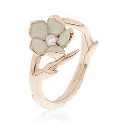 Shaun Leane Single Cherry Blossom Ring