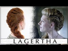 Vikings Hair Tutorial - Lagertha's Big French Braid Faux Hawk - YouTube