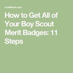 How to Make It Easier to Earn Boy Scout Merit Badges   Niños ...