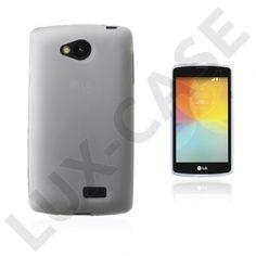 Sund LG F60 Deksel - Gjennomsiktig Smartphone, Cover, Blankets