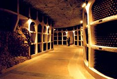 Cricova wine cellars in Moldova are the biggest natural wine storage in the world - the visitors can enjoy tasting various wines and marvel at the underground themed wine-tasting complexes. Places To Travel, Places To See, Places Ive Been, Caves, Famous Wines, Site Archéologique, Central And Eastern Europe, In Vino Veritas, Eiffel