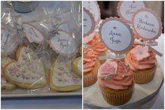 Biel, srebro i róż czyli słodka klasyka na Łódzkich Targach Ślubnych 2015 - Słodka Pracownia - Cupcake's | Słodkie Stoły | Torty z Babeczek