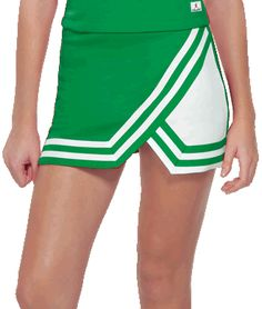 Double-Knit Panel A-Line Cheerleading Uniform Skirt by Chassé