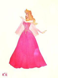 Disney Princess Drawings, Disney Princesses, Disney Characters, Regine, Anime Dress, Nalu, Disney Cartoons, Princesas Disney, Disney Art