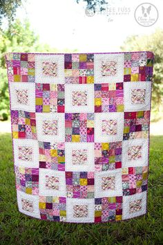 Queue for the Zoo Quilt   Flickr - Photo Sharing!