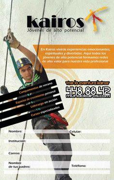 Flyer paraCorporación Kairos