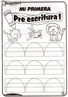 Resultado de imagen para actividades de escritura niños de 4 años