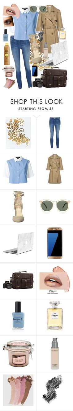 """""""Take a photo, please!"""" by vanxleo ❤ liked on Polyvore featuring Alexander Wang, RED Valentino, Ivanka Trump, Karen Walker, Samsung, Nikon, Lauren B. Beauty, Sun Bum, Chanel and Gucci"""