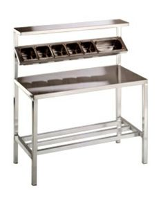 SPLPG Gasmax LPG Gas Burner With Oven Cafe Kitchen - 6ft stainless steel table