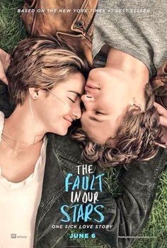 """The world is not a wish-granting factory"" - The Fault In Our Stars. An amazing, moving movie with two wonderful young actors. Watch with an entire box of kleenex."