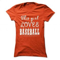 Limited Edition This girl loves Baseball - #sweatshirts #cool hoodies for men…