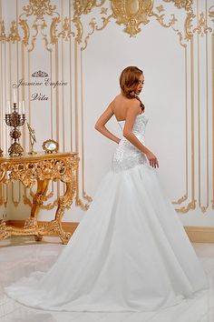 Suknie ślubne Kraków Jasmine, Empire, Wedding Dresses, Fashion, Bride Dresses, Moda, Bridal Gowns, Fashion Styles