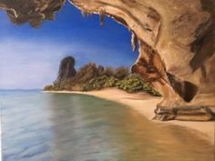 Thajsko - olej na plátně