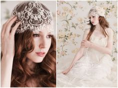 Romantic Headpieces & Accessories By Enchanted Atelier