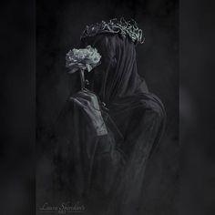 "@sheridans_art ""Oblivions Soul"" - Veil Series  Model - @fox.and.lionheart Crown - @hysteriamachine Photography - Laura Sheridan's Art  #portrait #portraiture #veil #art #gothic #goth #crown #fantasy #fairytale #art #studio #contemporary #photography #branches #dark #dryad #fairy #darkbeauty #occult #flower #canon"