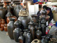 artesania de barro en Uruapan Mich. en Semana Santa
