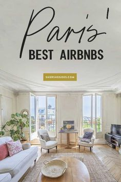 Oui Oui: These are the Best Airbnbs in Paris! (Balcony, Views, etc) Best Paris Hotels, Paris Airbnb, Hotel Des Invalides, Paris Flat, Paris Travel Tips, Most Luxurious Hotels, Triomphe, Paris Apartments, Oui Oui