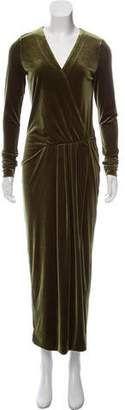 By Malene Birger Velvet Maxi Dress Forever Bright Toothgel, Malene Birger, Black Leather, Velvet, Formal Dresses, Chic, Long Sleeve, Sleeves, How To Wear
