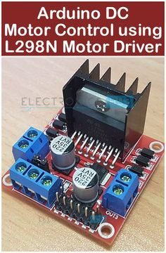 In this project, we will see how to control a DC Motor using Arduino and Motor Driver. There are different ways to control a DC Motor but the Arduino DC Motor Control using Motor Driver is becoming quite popular for many reasons. Motor Arduino, Arduino Stepper Motor Control, Arduino R3, Arduino Programming, Linux, Electronic Circuit Projects, Electrical Projects, Electrical Installation, Hobby Electronics