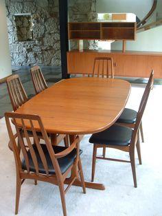 Skovby midcentury modern danish modern Teak Dining Table