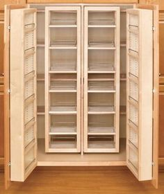 Rev-a-shelf pantry layout