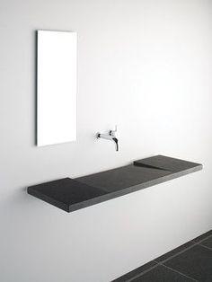 Minimal Slope Concrete Ramp Sink With Negative Edge Slot