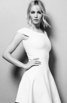 Jennifer Lawrence photographed by Jean-Baptiste Mondino