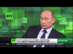 Putin talks about his views regarding Iran and Israeli security concerns.