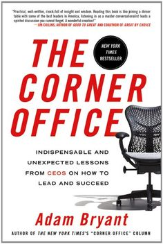 The Corner Office: Indispensable and Unexpected Lessons from CEOs on How to Lead and Succeed by Adam Bryant http://www.amazon.com/dp/1250001749/ref=cm_sw_r_pi_dp_NYUhvb14EFFCQ