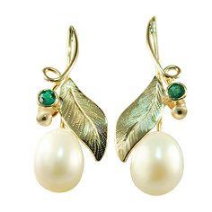 The Leola Earrings #BrilliantEarth #Vintage