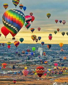 Beautiful morning at the Albuquerque International Balloon Fiesta!