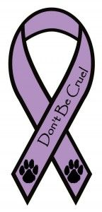 Don't Be Cruel Animal Awareness Car Magnet $7 ~ NOW THIS IS A MESSAGE I'D LIKE TO HAVE ON MY CAR ~