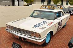 1963 Ford Galaxie. Dan Gurney. Riverside Raceway stock car.