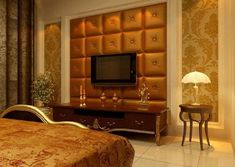 Leather Tile Panels From Royal Stone & Tile - contemporary - wallpaper - los angeles - Royal Stone & Tile Leather Wall Panels, Mdf Wall Panels, 3d Panels, Tile Panels, Interior Design Blogs, Interior Shutters, Interior Walls, Diy Tufted Headboard, Faux Stone Panels