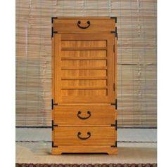 Anese Kiri Wood Ko Cho Dansu Chest Box Honey Finish By Gallery Of World Accents