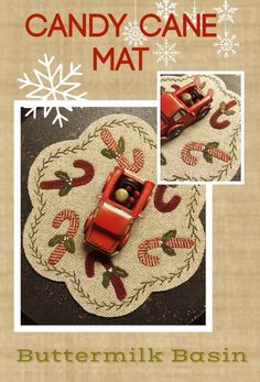 Candy Cane Penny Mat                                                                                                                                                                                 More