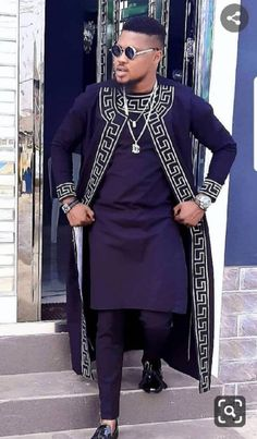 African Male Suits, African Wear Styles For Men, African Shirts For Men, African Dresses Men, African Attire For Men, African Clothing For Men, African Style, African Women, African Clothes