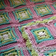 Sweetest Baby Blanket   AllFreeCrochetAfghanPatterns.com