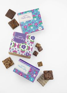 Don't know what to get Mom this year for Mother's Day? Send her a food gift of gourmet brownies. Gift baskets are the best! Cookie Gift Baskets, Cookie Gifts, Food Gifts, All About Mom, Belgian Chocolate, Brownie Cookies, Happy Mothers Day, A Food, Brownies