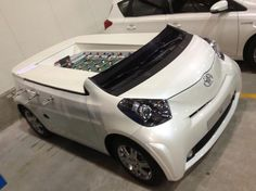 Toyota Aygo foosball table