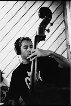 Two of my favorite things a stand up bass and MCA