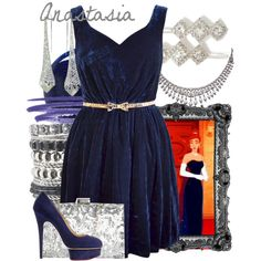 """Anastasia"" by amarie104 on Polyvore"
