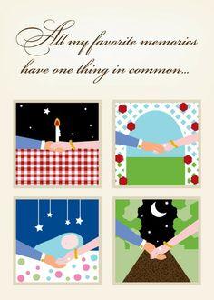 Common Denominator - Valentine's Day Cards in Linen   Magnolia Press
