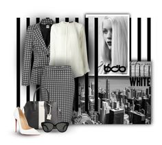 """Life In Black White"" by tanja133 ❤ liked on Polyvore featuring Forum, GE, Etro, Kate Spade, Christian Louboutin, Linda Farrow and bdb"