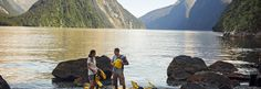 Bask in the scale of dramatic fiords, spectacular waterfalls and towering peaks in Milford Sound. Take a boat ride, scenic flight, kayak or hike!