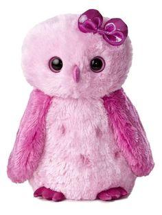 "12"" Aurora Plush Pink Snowy Owl Girlz Nation Stuffed Animal Toy 50406  #Aurora"