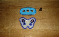 some of my beaded barrettes
