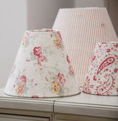 Lampshades Sweetpea and Roses FGx.jpg Peony and Sage