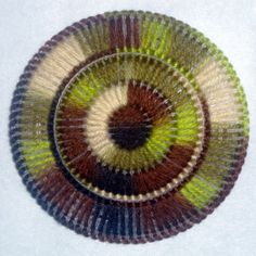 Mossy Woods Circle Coasters by MastersCreations on Etsy, $15.00