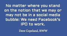 On tomorrow's Facebook IPO...